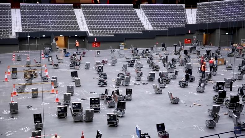 """""""Евровидение-2021"""": В Нидерландах начали активно возводить сцену"""