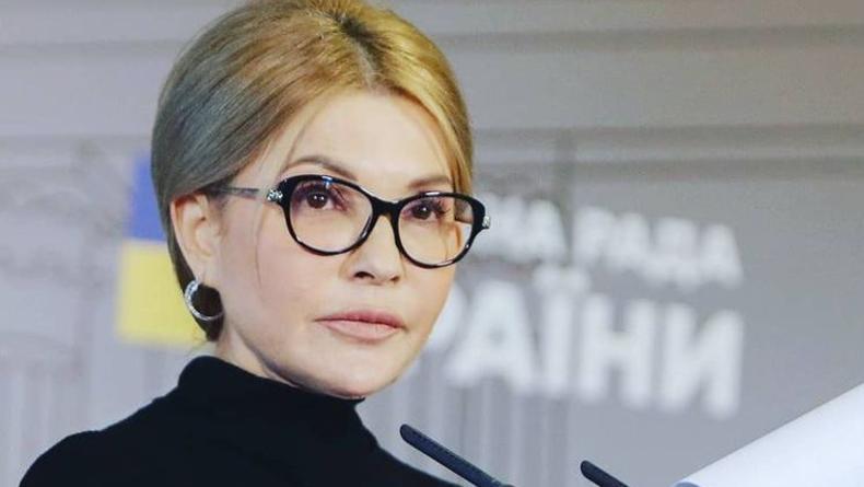 Юлия Тимошенко покорила пользователей соцсетей total black-образом