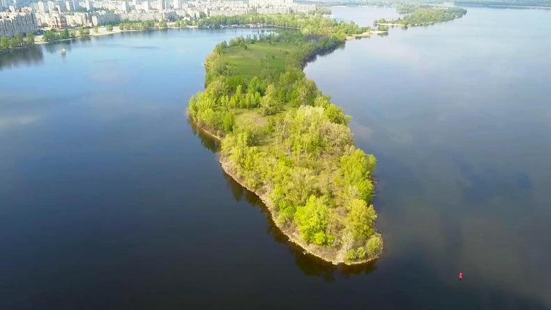 Что уже сделано для создания зоны отдыха на Оболонском острове в Киеве