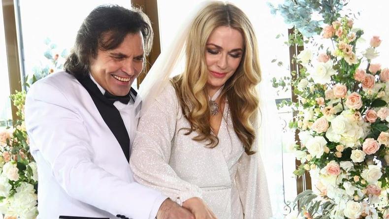 Ольга Сумская поделилась снимками и видео со своей новой свадьбы