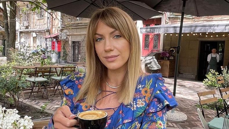 Леся Никитюк спровоцировала шутки своим полупрозрачным нарядом
