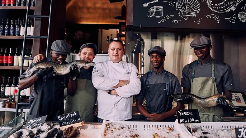 Рыбные рестораны Киева – ТОП-7 лучших