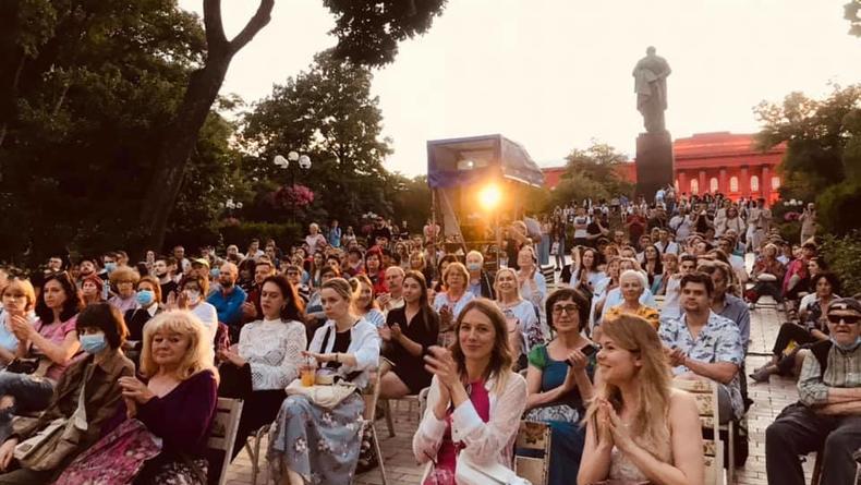 В парке Шевченко в Киеве запланированы показы кино под открытым небом