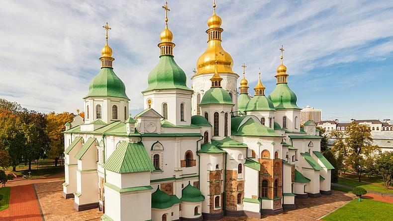 На территории Софийского собора в Киеве найдены подземные лабиринты