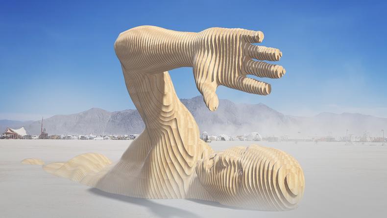 В Киеве близ Арки дружбы народов поселится инсталляция для Burning Man