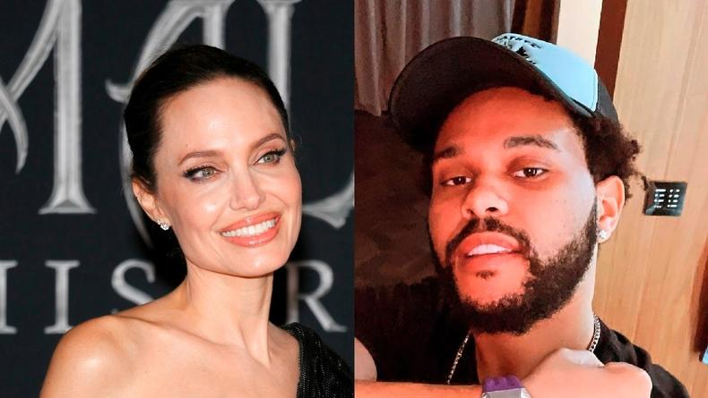 Джоли и The Weeknd подлили масла в огонь слухов о своем романе