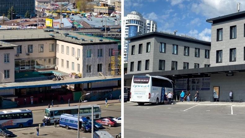 Центральный автовокзал Киева открылся после реконструкции – фото