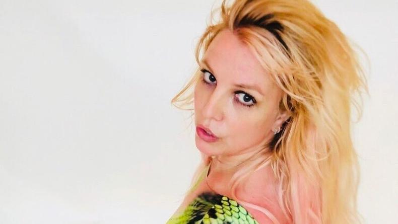 Бритни Спирс выставила свои голые фото, на которых держит грудь руками