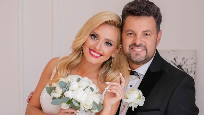 Ирина Федишин снялась со своим продюсером в свадебном ролике