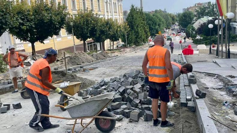 В Киеве впервые за 32 года ведется реконструкция улицы Андреевской