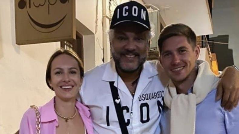 Жена Остапчука прокомментировала их ужин с Киркоровым на курорте