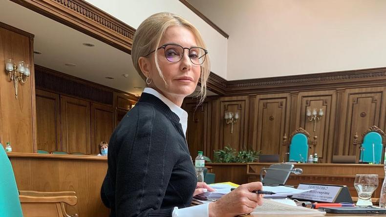 Юлия Тимошенко приковала к себе взгляды новым нарядом