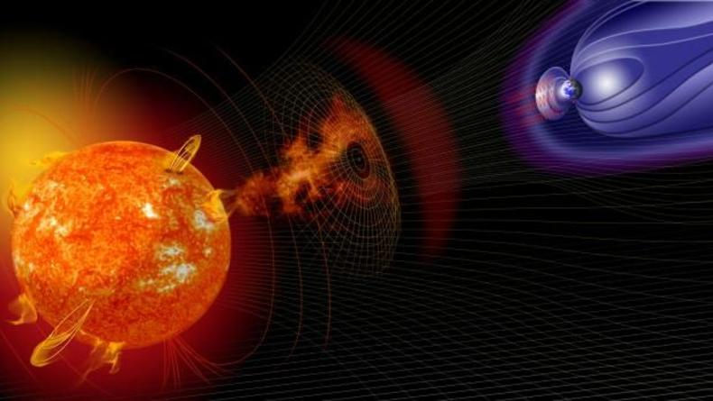 Сколько магнитных бурь намечается в октябре и как себя от них уберечь
