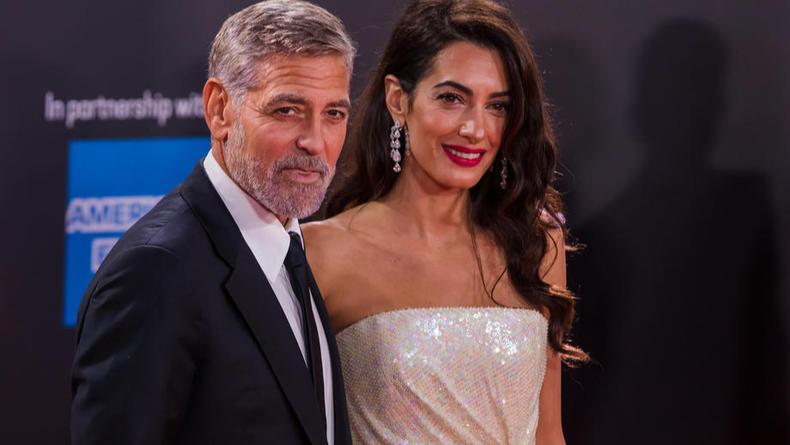 Самая красивая пара Лондонского кинофестиваля – Джордж и Амаль Клуни